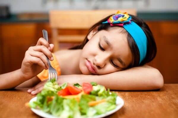 Các dấu hiệu của chứng rối loạn ăn uống
